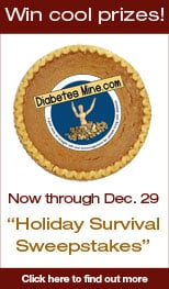 Logo for Diabetes Mine Holiday logo