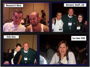 Collage of DOC peeps at CWD 2010
