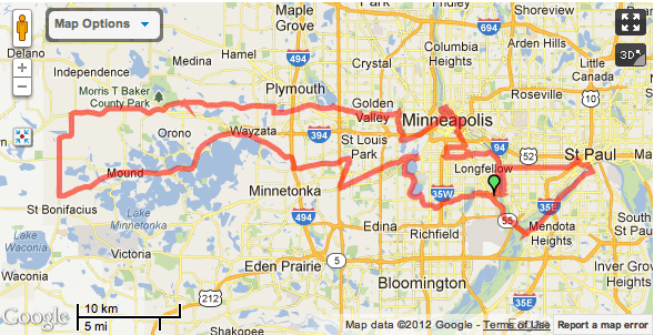 102 Mile Route
