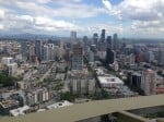 Seattle view from the Space Needle