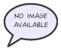 "Comic speech bubble with text that says ""no image available"""