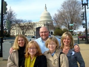 Picture of the MN JDRF crew on Capitol Hill